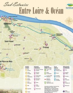 Carte Sud Estuaire, entre Loire et Océan