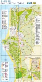 Plan de Saint-Brevin/Carte Sud Estuaire 2019