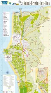 Plan de Saint Brevin / carte Sud Estuaire