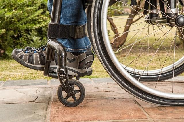 Wanderung mit behinderten Menschen