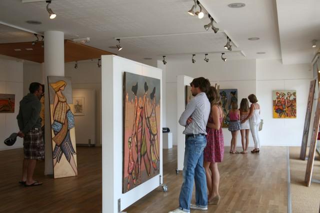 Kulturelle Räume, Ausstellungen