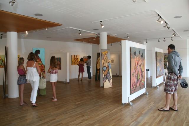 Salles d'expositions, galeries