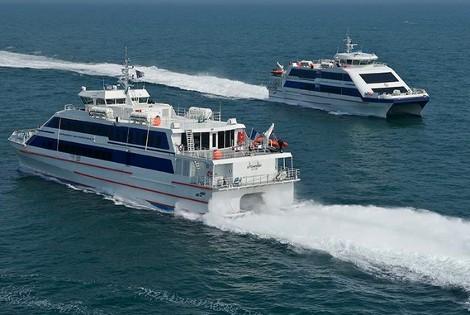 Liaisons maritimes - Sorties en mer