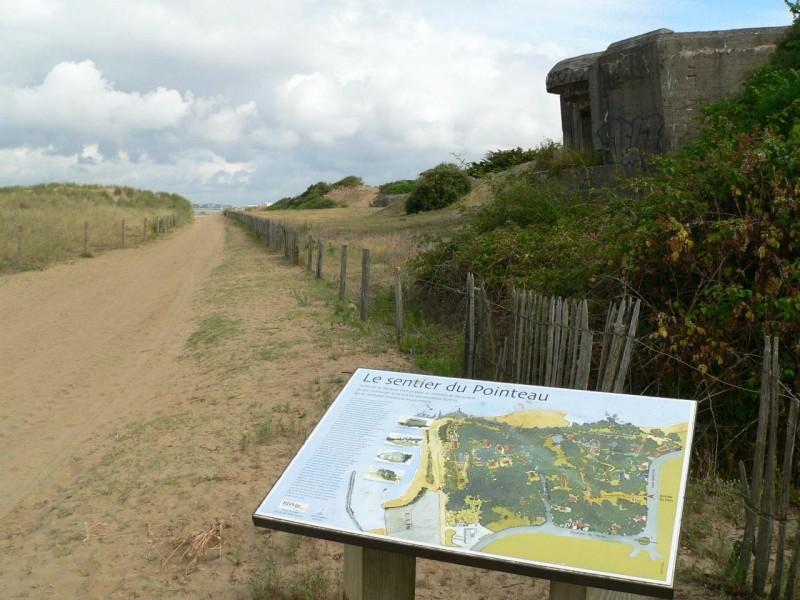 Sentier-découverte-du-patrimoine-militaire-du-Pointeau-st-brevin-loire-atlantique