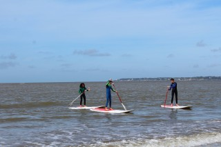 Stand Up Paddle Avec Le Centre Nautique De Saint Brevin